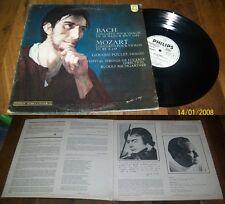 GERARD POULET - Bach / Mozart LP Philips Hors Commerce, Le Club Isambert