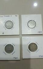 10 cent straits settlement 1953 1960 1961 1961H