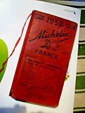 GUIDE - MICHELIN 1958 - FRANCE < ORIGINAL 910 PAGES > ETAT  CORRECT