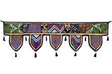 Indian Handmade Ethnic Door Hanging Topper Toran Window Valence Home Decor