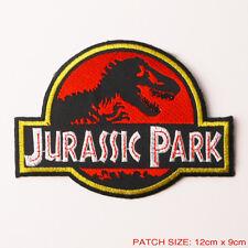 "JURASSIC PARK - Original 5"" Movie Prop Themepark Patch Full Prop Size, Excellent"