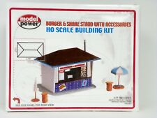 "MODEL POWER HO U/A ""BURGER & SHAKE STAND WITH ACCESSORIES"" PLASTIC MODEL KIT"