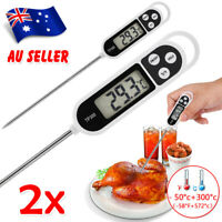 2X Digital COOKING FOOD MEAT THERMOMETER MEAT Stab PROBE TEMPERATURE KITCHEN