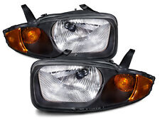 Headlights Headlamps Pair Set Left And Right Fits 03 05 Chevrolet Cavalier