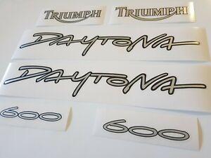 Triumph Daytona 600 Decals