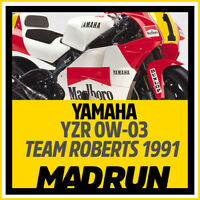 Kit Adesivi Yamaha YZR 500 OW-03 1991 - Wayne Rainey - High Quality Decals