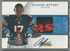 2012 PANINI BLACK FRIDAY 2013 NATIONAL ALSHON JEFFERY RC AUTO HAT!!