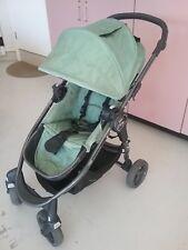 Baby Jogger select pram and bassinet, green