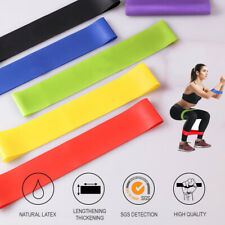 Resistance Bands Loop Legs 5 Set Strength Fitness Gym Exercise Band Yoga Workout