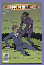 Doctor Who #10 2010 Don't Step on Grass Tony Lee Blair Shedd Idw L
