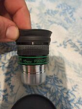 Ocular Tele Vue panoptic 15 mm made in Japan  nos