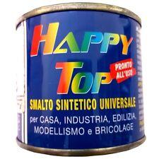 Vernice Smalto Sintetico Universale Alluminio ruote 125ml Happy Top