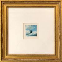 FANNY BRENNAN - Custom Framed 'Christmas Tree' Hand-Signed LE Lithograph