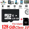 Micro SD Card 128GB Class 10 SDHC SDXC Memory Card TF For Mobile Phone Tablet