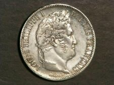 FRANCE 1831W  5 Francs Silver Crown VF-XF