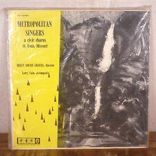 RARE Helen Louise Graves St. Louis Metropolitan Singers LP private 1950's SEALED