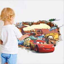 Dis Pix Cars Lightning McQueen Mater Mural Wall Sticker Kids Nursery Room Decor
