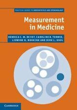 Measurement in Medicine: A Practical Guide by Henrica C. W. de Vet: New