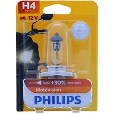 H4 PHILIPS Vision Moto - 30% Mehr Licht Vibratrionsfest Lampe  NEU