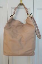 Stunning Laura Di Maggio Pink (Rosa) Leather Hobo/Shoulder – NWT $3