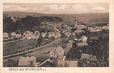 Gruss aus Neuhausen Sachsen Postkarte 1920