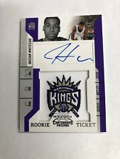 2010-11 Panini Contenders Patches Hassan Whiteside #131 Rookie Ticket Auto