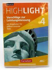 English G Highlight 4 Hauptschule 8. Schulj. Vorschläge zur Leistungsmessung MP3