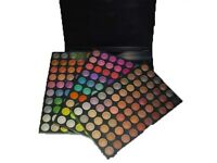180 B color EyeShadow Palette Shimmer Matte Warm Professional Beauty 3 layers