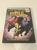 Paul Unrated Dvd From The Director Of Superbad Widescreen 2010 R 104m UR 110m