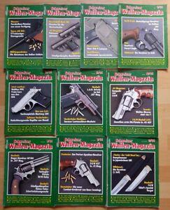 10x Schweizer Waffenmagazin 1986 komplett Zeitschrift Pistolen Hefte Jahrgang