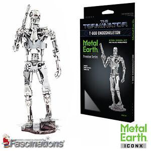 New Metal Earth The Terminator T-800 Endoskeleton Metal Construction Kit ICX141