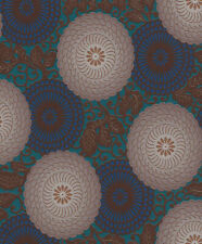 Vliestapete Rasch Ornament Floral braun Indian Summer 759082 (2,71€/1qm)