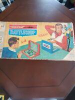 Vintage 1967 Battleship Board Game by Milton Bradley Strategy Complete Nice!!!