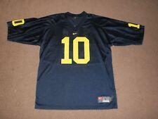 Michgan Wolverines #10 Football Jersey-Adult L-Nike