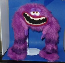 "Monster's University ""ART"" Plush Purple Monster Disney Pixar Monsters Inc"