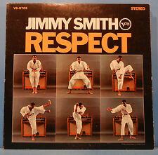 JIMMY SMITH RESPECT VINYL LP 1967 ORIGINAL PRESS RVG NICE COND! VG/VG!!