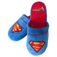SUPERMAN Muli Pantofole antislittamento suole UK Taglia 5-7