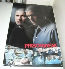 ROLLED 2006 FOX TV PRISON BREAK POSTER 24 x 36 WENTWORTH MILLER DOMINIC PURCELL