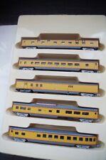 Con-Cor 5 Car Passenger Set, Union Pacific, N gauge