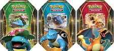 2014 Pokemon Power Trio Tin Set of 3 - Blastoise EX, Charizard EX, Venusaur EX