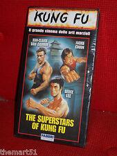 The Superstars of Kung Fu (2002)   VHS Fratelli Fabbri  Van Damme Bruce Lee NEW