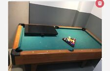 """pool table and 19"""" tv"""