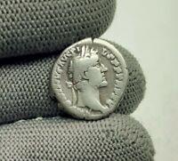 imp. ANTONINUS PIUS 138-161 A.D ROMAN Original Antique Coin SILVER DENARIUS #098