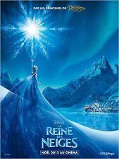 Affiche 120x160cm LA REINE DES NEIGES /FROZEN 2013 film d'animation NEUVE