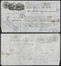 Portugal 1886 - Ship Waybill Porto I359