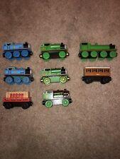 Thomas Friends Wooden Trains Chocolate & 60 Yr Percy Henry Annie Cargo Car
