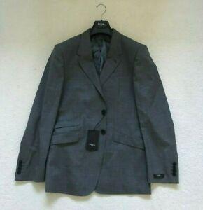 """Paul Smith LONDON  """"WESTBOURNE"""" GREY 2 btn Jacket Blazer  size 40/50 - p2p 20.5"""""""