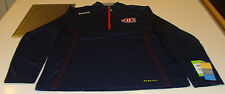 Montreal Canadiens NHL Hockey Reebok Center Ice Baselayer 1/4 Zip Top Pullover M