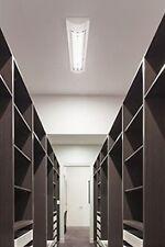 Rasterleuchte T8 Anbauleuchte 2x18W mit EVG Deckenleuchte Office Weiß Lampe