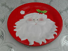 SWEET FATHER CHRISTMAS / SANTA  8 INCH PLATE - LEAVE SOME CARROTS FOR REINDEER